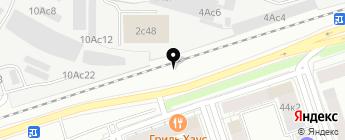 1-М на карте Москвы