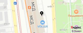 Аудимания на карте Москвы