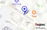 Схема проезда до компании ПРЕДСТАВИТЕЛЬСТВО В МОСКВЕ ПТФ OLIVA в Москве