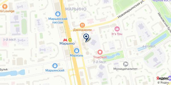 Добрый Доктор на карте Москве