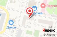 Схема проезда до компании Ветклиника №1 в Пироговском