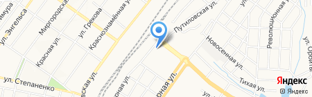 Чайнатаун на карте Донецка