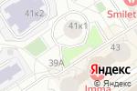 Схема проезда до компании ПЕНТАдизайн-М в Москве