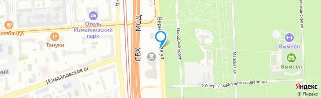 улица Измайловского Зверинца 2-я