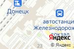 Схема проезда до компании Ваш Ломбард в Донецке