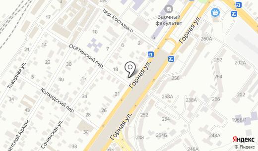 Многопрофильная мастерская. Схема проезда в Донецке
