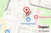 Схема проезда до компании Пятерочка в Пироговском