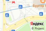 Схема проезда до компании Трансфер Центр в Москве