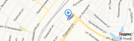 Донецкая общеобразовательная школа I-III ступеней №23 на карте Донецка