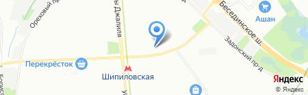 ОПОП Южного административного округа на карте Москвы