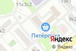 Схема проезда до компании Московский городской центр условий и охраны труда в Москве