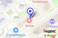 Схема проезда до компании МЕБЕЛЬНЫЙ ЦЕНТР ВСЯ МЕБЕЛЬ в Москве