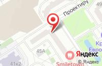 Схема проезда до компании Золотой дукат в Москве