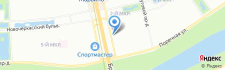Платежный терминал Банк Русский Стандарт на карте Москвы