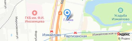 Вега на карте Москвы