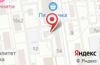 Схема проезда до компании Д Энд Т Индпедит Медиа Групп в Москве