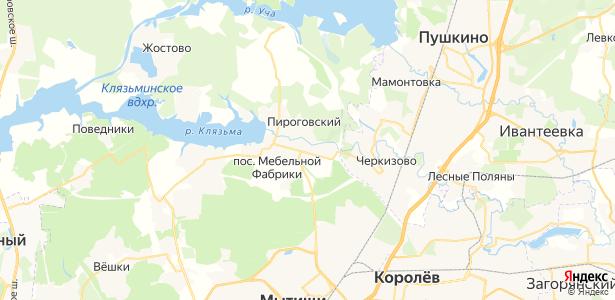 Коргашино на карте