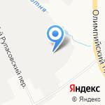 Гаражно-строительный кооператив №21-23 на карте Мытищ