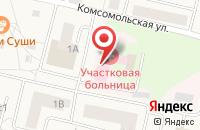 Схема проезда до компании РОСНО-МС в Пироговском