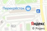 Схема проезда до компании ШикО в Москве