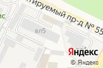 Схема проезда до компании Артист в Москве