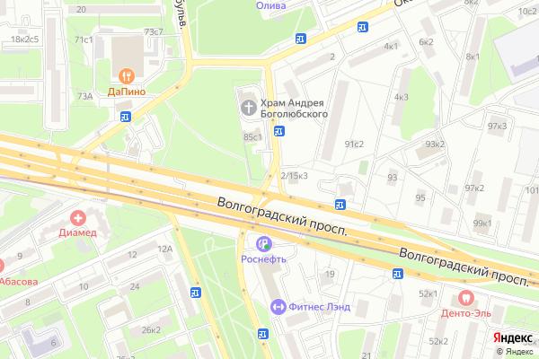 Ремонт телевизоров Волжский бульвар на яндекс карте