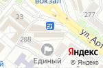 Схема проезда до компании Привокзальный в Донецке
