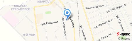 Автостоянка на карте Авдеевки