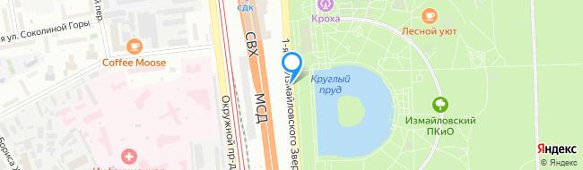 улица Измайловского Зверинца 1-я