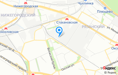 Местоположение на карте пункта техосмотра по адресу г Москва, проезд Грайвороновский 2-й, д 32А стр 1