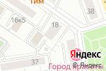 Схема проезда до компании Московия в Москве