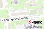 Схема проезда до компании Орбита-Сервис-Атэкс в Москве