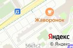Схема проезда до компании Налоговый вычет в Москве