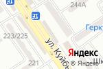 Схема проезда до компании Пивград в Донецке
