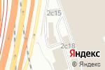 Схема проезда до компании Кибер-СБ в Москве