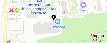 IVIMOTO на карте Москвы