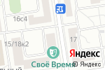 Схема проезда до компании Farfallina в Москве