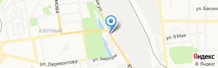 Мил Авто на карте Донецка