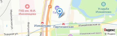 Сармат на карте Москвы