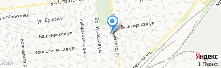 Храм Игнатия Брянчанинова на карте Донецка