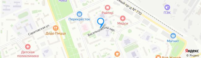 Васильцовский переулок