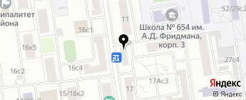 Clubturbo на карте Москвы