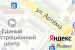 Схема проезда до компании Отделение связи №18 в Донецке