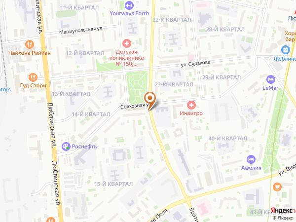 Остановка «Совхозная ул.», Краснодонская улица (10383) (Москва)