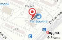 Схема проезда до компании Стройтек в Москве