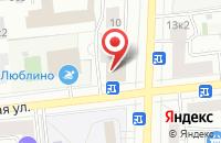 Схема проезда до компании Высокие Технологии в Москве