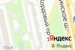 Схема проезда до компании Iron Skull в Москве