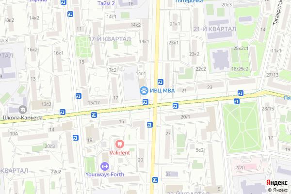 Ремонт телевизоров Район Люблино на яндекс карте
