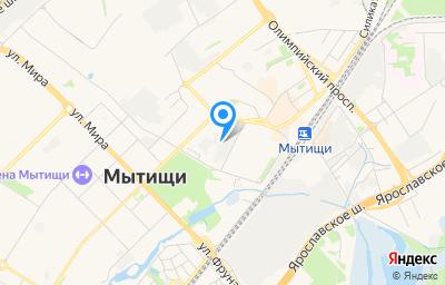 Местоположение на карте пункта техосмотра по адресу Московская обл, г Мытищи, ул Колпакова, д 2