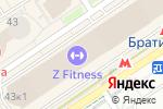 Схема проезда до компании I love mum в Москве